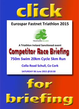 Triathlon Race Briefing