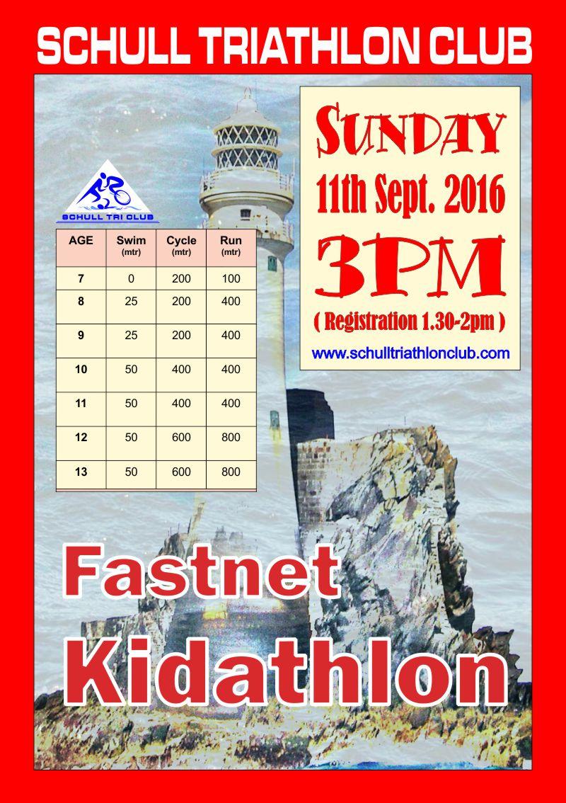 Fastnet Kidathlon